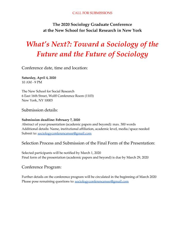 CfP_2020_NSSR_Sociology_Graduate_Conference-2